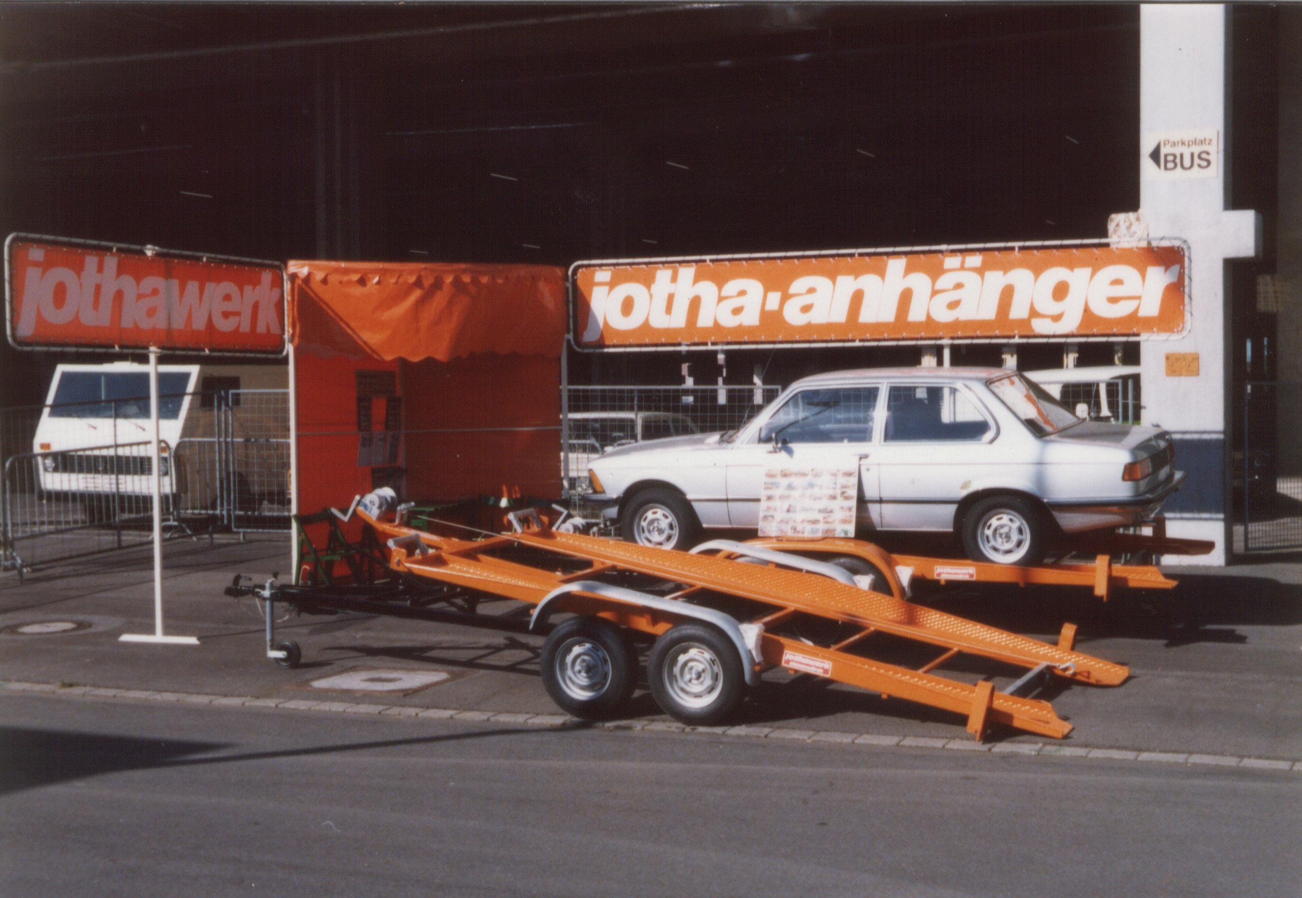Jotha Anhänger auf der IAA 1976