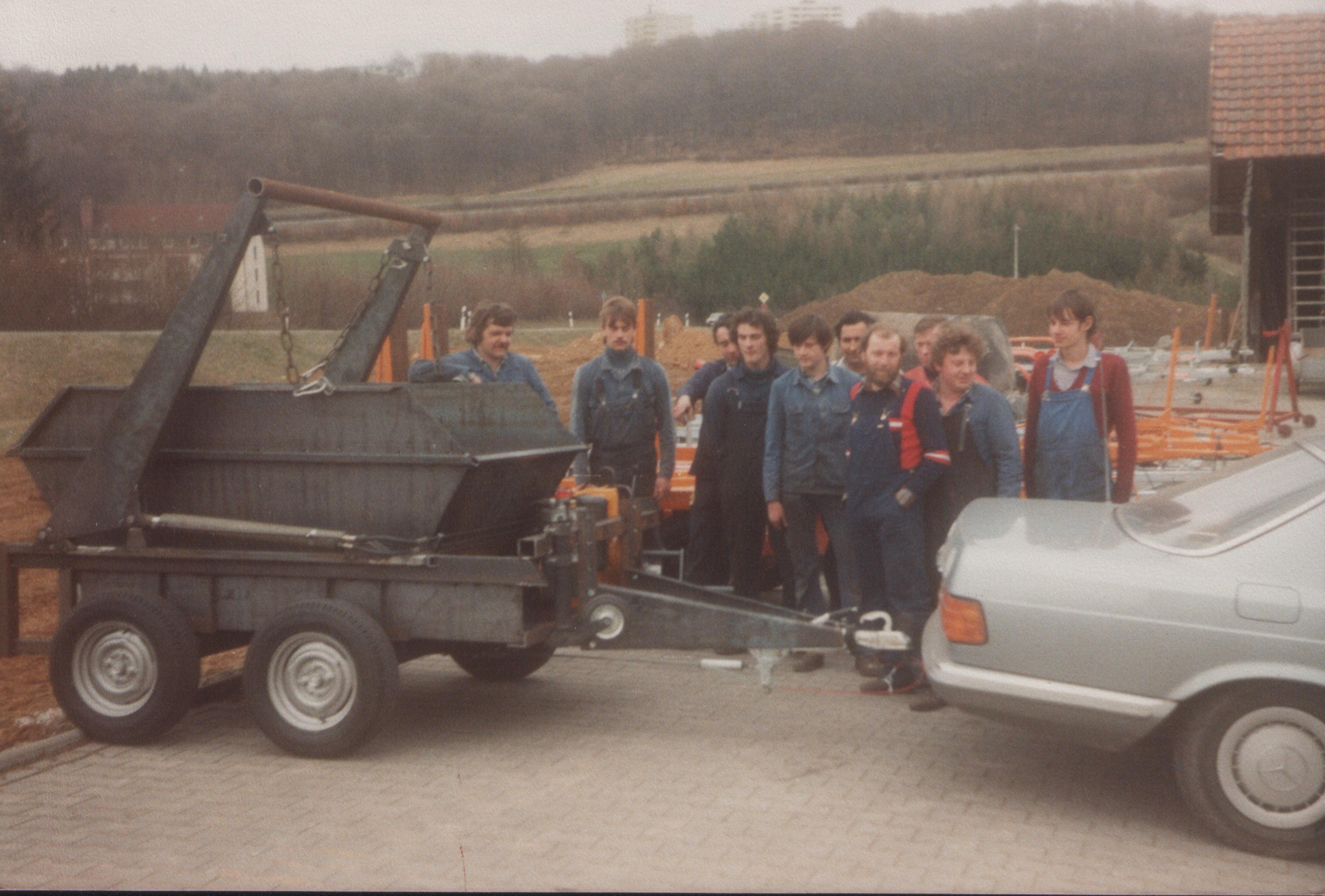 Prototyp eines Erfolgmodells: Absetzkipper 1984