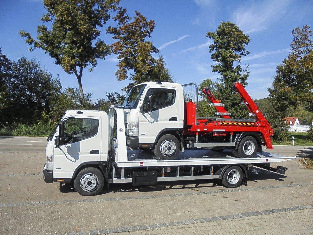 Jotha Autotransporter und Absetzkippaufbau
